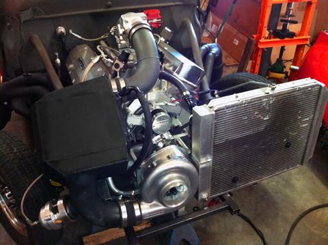 MTP shop car 2014 X-6 F-2 install