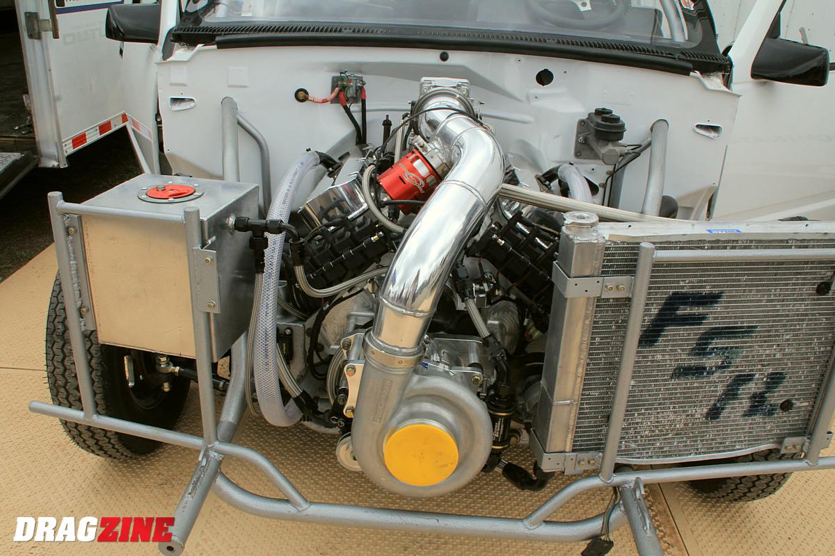 BB Chevy X-10 F2 install
