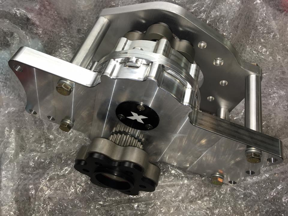 X-6 gear drive assembly